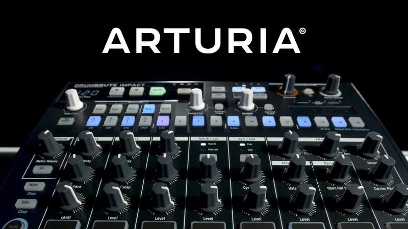 Arturia DrumBrute Impact | Gear4music performance