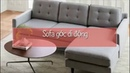 Sofa nỉ chữ L đẳng cấp giá chỉ có 5,3tr tại xưởng sản xuất sofa