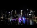 Сингапур. Световое шоу 1