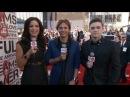 Джесси дал интервью на красной ковровой дорожке «American Music Awards 2013» в Лос-Анджелесе, 24 ноября, 2013