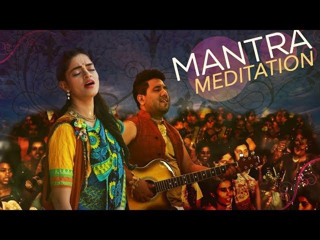 Hare Krishna Mantra - Kirtan - MAYAPUR - LONG DURATION - Madhavas Rock Band
