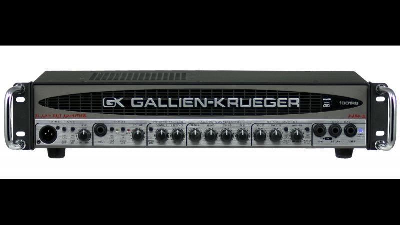 Gallien-Krueger GK 700rb mark II (demo by Dmitry Maximov and United store)