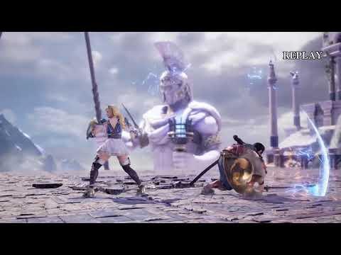 Soulcalibur VI PREVIEW gameplay 4 KOs And Replays