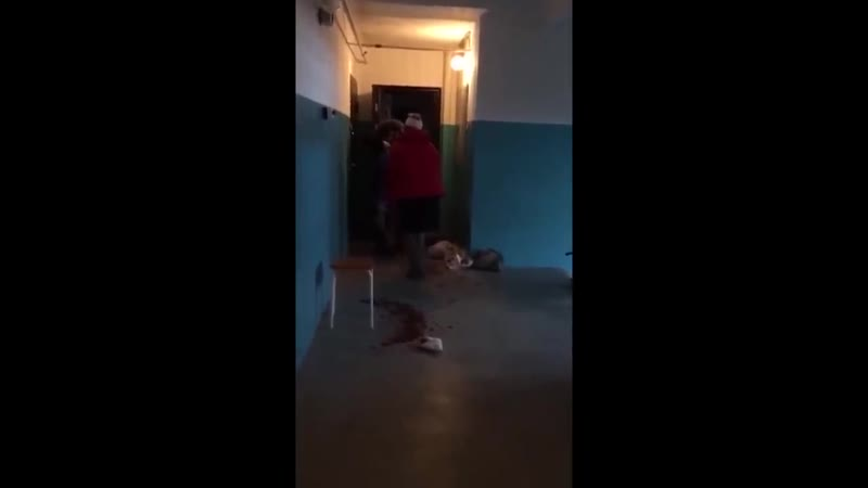 Мужик остановил девочку ружьем