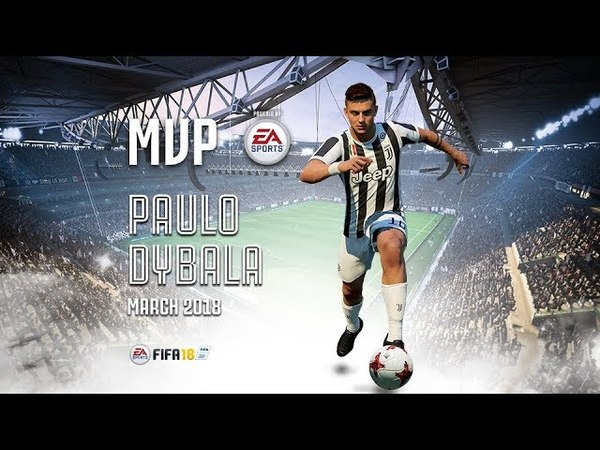 Paulo Dybala wins March MVP powered by EA Sports