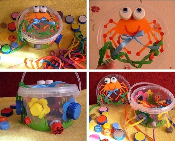 Развивающие игрушки своими руками для детей 5-6 лет