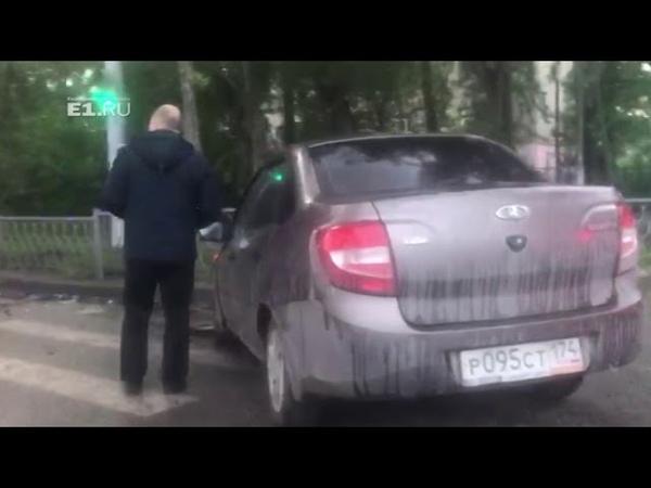 Двое пострадали в ДТП на перекрестке проспекта Космонавтов и улицы Ломоносова