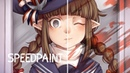(speedpaint) Reflection | Wadanohara and the Great Blue Sea | Redraw