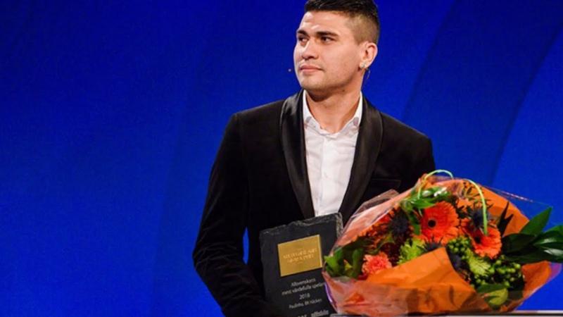 Paulinho vinner priset som mest värdefulla spelaren (Allsvenskans stora pris)