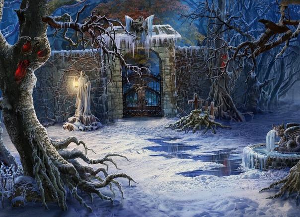 Маленькое упражнение в смерти Холодно, холодно, очень холодно Холод медленно подползает, как доисторический змей, подбираясь всё ближе и ближе. Его колючие лапы уже вонзились в пальцы ног,