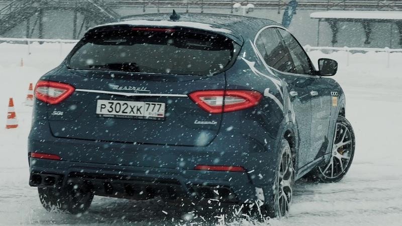 Larte Maserati Levante Shtorm on Winter Tour 2018