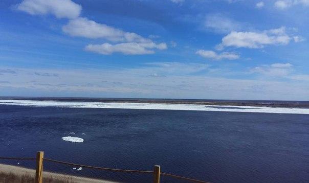 В районе Якутска проходит местный ледоход
