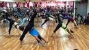 Yoga performance with master Vivek and students at Bharat 52 Chua Ha