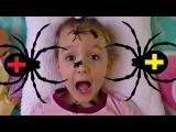 Укусил ПАУК. Играем в доктора. Делаем УКОЛ В ПОПУ! Видео для детей