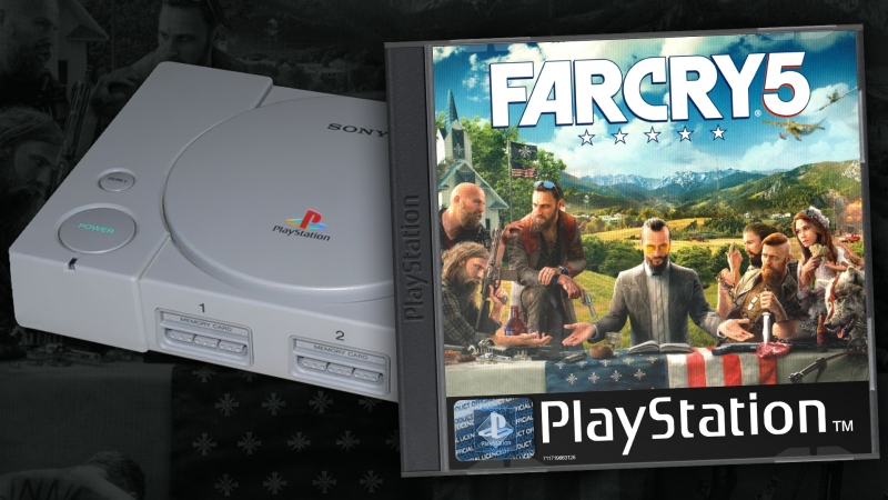 Трейлер FARCRY5 для PSOne