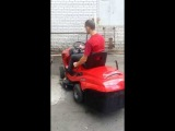 Трактор AL-KO T17-102SPH V2 в работе)