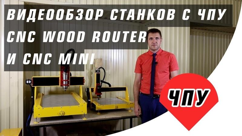 Видео обзор станков с ЧПУ CNC wood router и CNC mini
