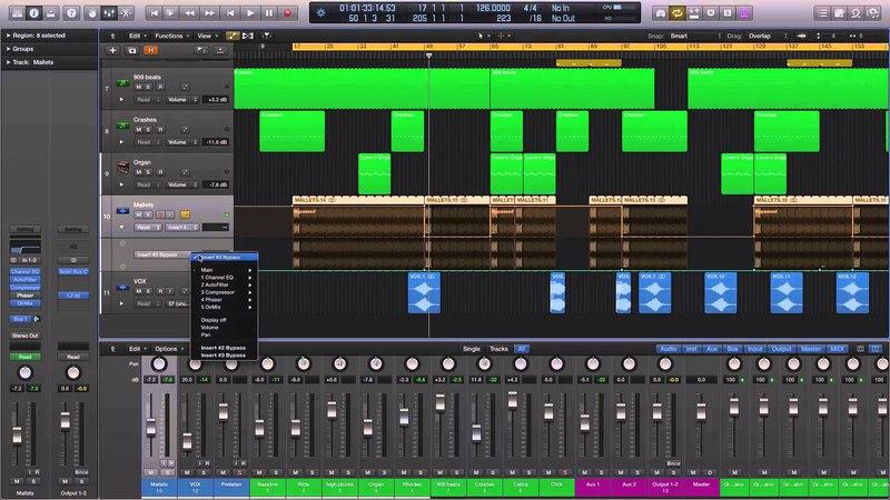 Басс линия интересная для хауса Logic Pro X - Deconstructing Danny J Lewis This House Remix