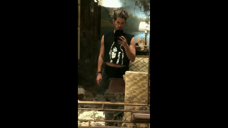 @adamlambert VIDEO from maxwellpoth ig storiesAdam is walking behind him httpst.co_VUcPkHcPVR