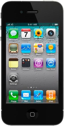 Прдаю iPhone 4 Black 16Гб