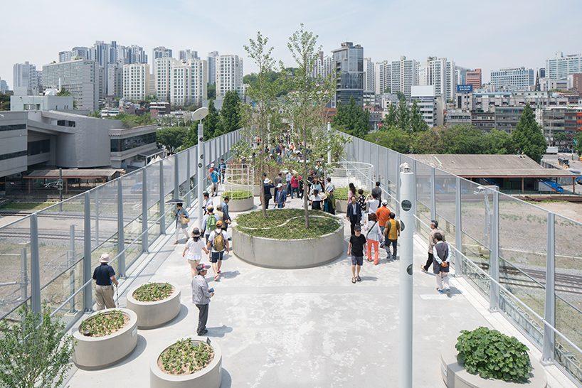 MVRDV's elevated skygarden opens on former highway in Seoul