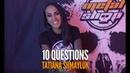 10 questions with Tatiana Shmayluk | JINJER