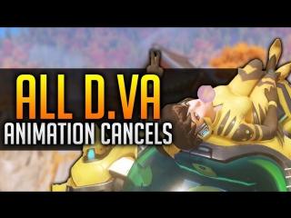 All D.va animation Cancels