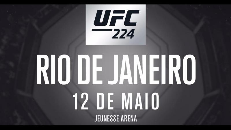 Promo to UFC 224. By Naydenov.
