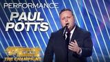 Paul Potts Extraordinary Opera Singer Performs