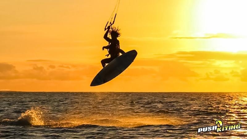 Kitesurfing in Paradise with Airton Cozzolino 😍 I love kiteboarding!