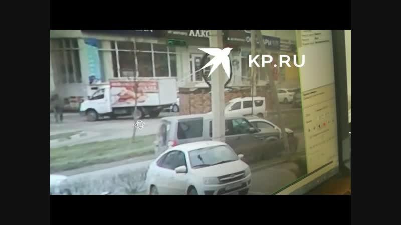 Авария в Краснодаре, виновником которой стал администратор паблика Жесть Краснодара