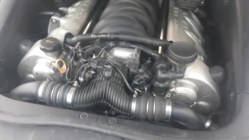 холодный мотор каен