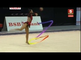 PAZHAVA Salome Ribbon Qualifications World Cup Minsk 2018