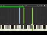Главная музыкальная тема из трилогии Назад в будущее на пианино.