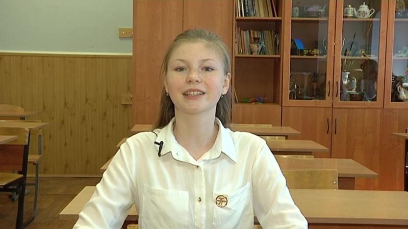 Дикторы. Рафальская Анна, 7 Б класс.