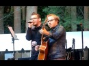 """Brent Smith and Zach Myers of Shinedown """"I'll Follow You"""" It Takes a Community charity event"""