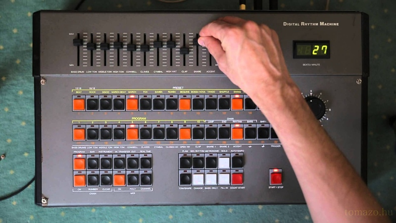 Vermona DRM Vintage Digital Rhythm Machine - Highest Quality - Presets and programming