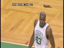 Kevin Garnett Alley Oop vs Wizards - Perkins Behind the back Move 2008