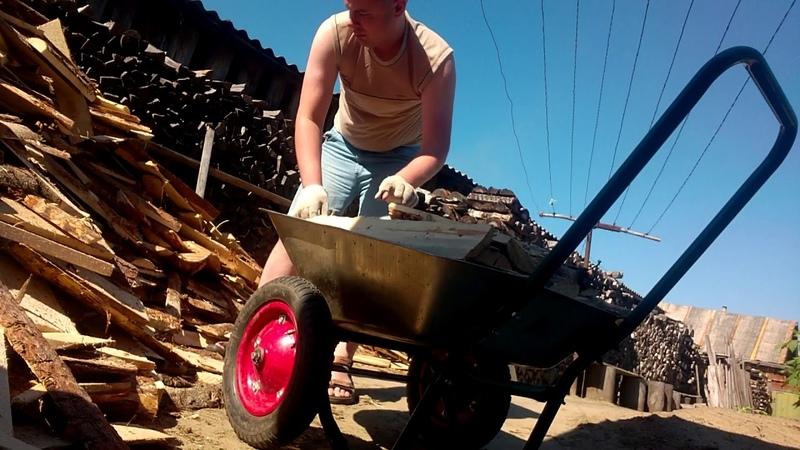 Извозчик дров Горбыль для бани