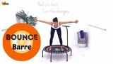 Rebounder Workout Mini Trampoline Workout BARLATES Bounce Barre Workout