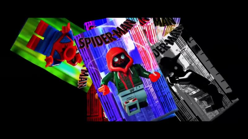 Spider-Man Into The Spider-Verse Whats Up Danger in LEGO