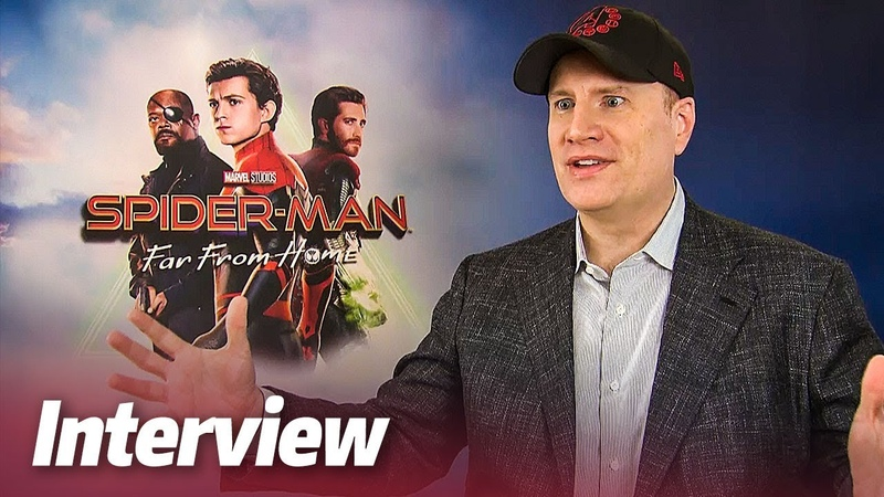 SPIDER-MAN FAR FROM HOME | Interview mit Marvel Chef KEVIN FEIGE