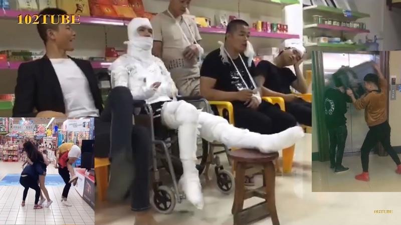 Troll ngu đường phố p12 - hắn đã nhập viện sau clip này [Chinese-Style prank]