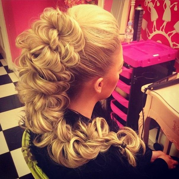 Фото красивых кос причесок