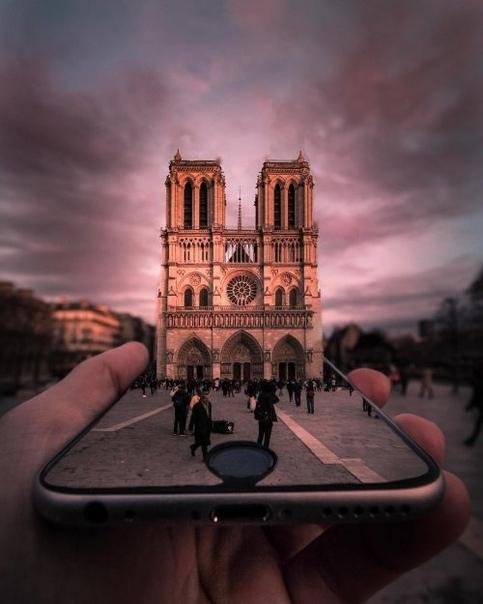 Парижские городские пейзажи через объектив фотографа Татьяны Личчиа