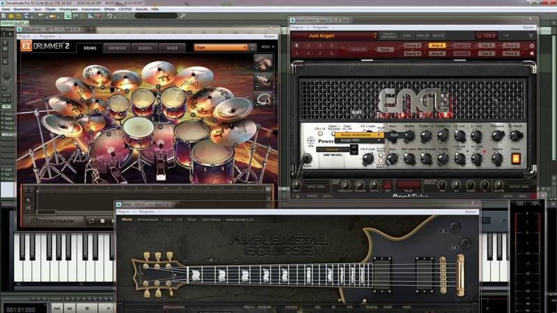 Ample sound ame 2 -metalmania demo