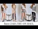 $900 Zara Try-On Haul Fall 2018 by Kerina Mango