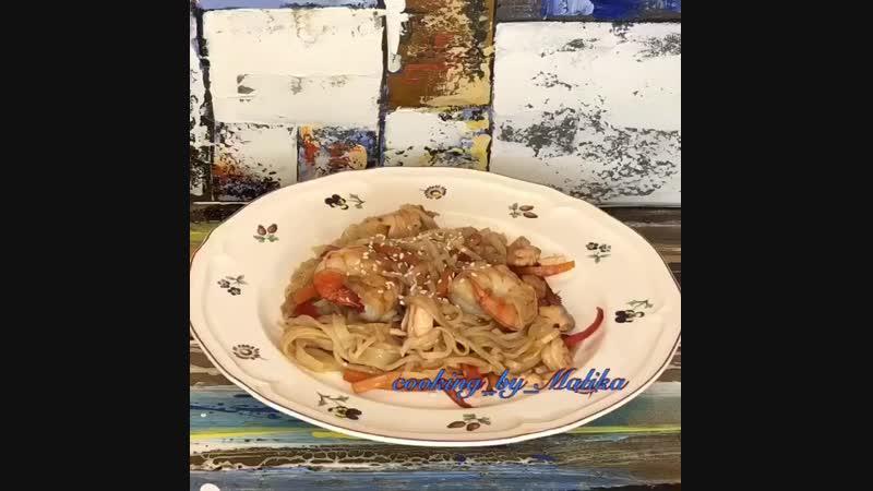 Рецепт лапши по-китайски
