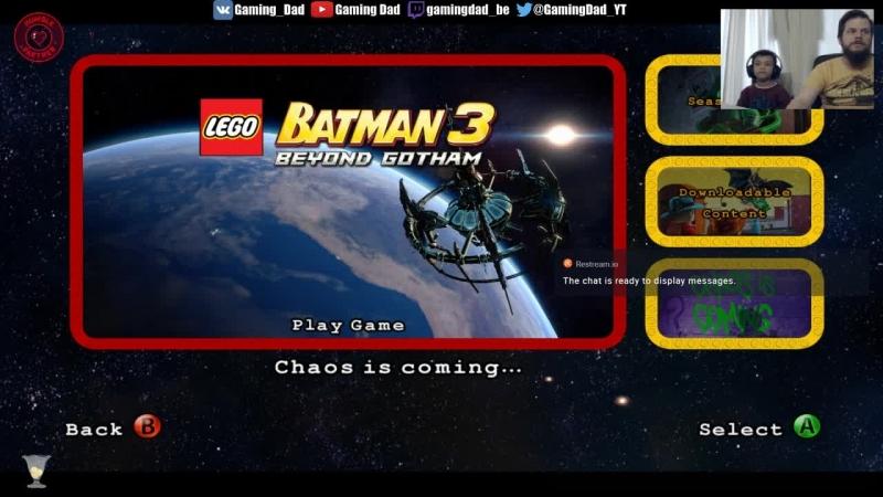 LEGO® Batman™3: Beyond Gotham with my son 8