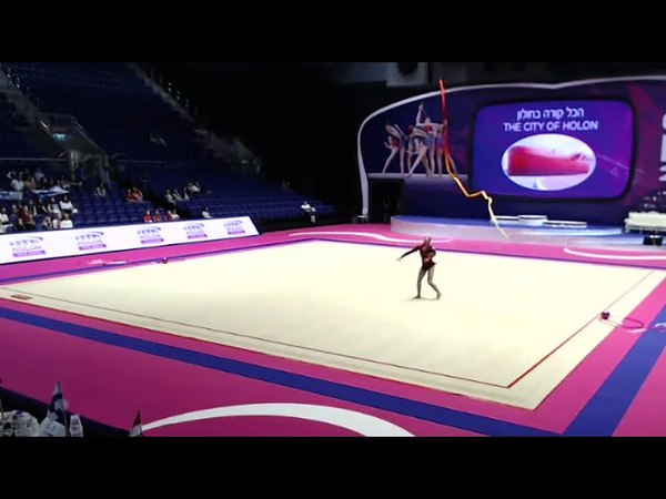 Salome Pazhava Ribbon Qualification Grand Prix Holon 2018
